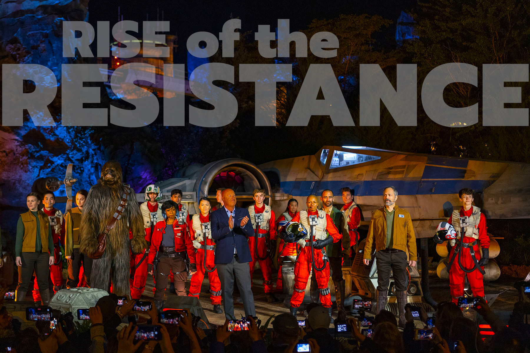 Star Wars: Rise of the Resistance Makes Galactic Debut at Walt Disney World Resort
