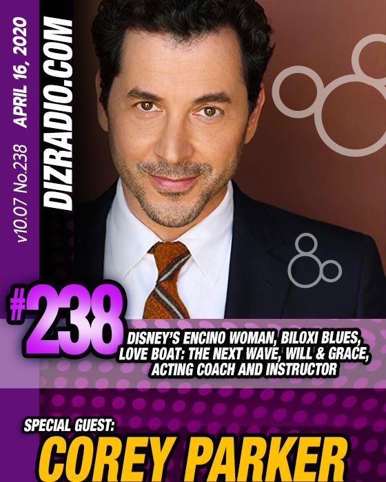 Disneyblu S Dizradio Disney On Demand Podcast Show 238 W Corey