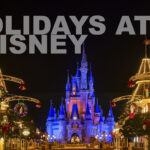 Holiday décor adorns Magic Kingdom Park at Walt Disney World Resort in Lake Buena Vista, Fla., for the 2020 season. Holiday festivities begin Nov. 6, 2020, and continue through Dec. 30 at The Most Magical Place on Earth. (Matt Stroshane, photographer)