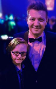 Actor and Singer Jeremy Renner Meets Young Man with Down Syndrome and Volunteers to Narrate 'Guion The Lion'