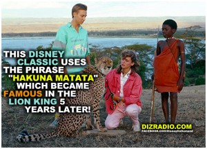 """""""This Disney Classic Uses the Phrase """"Hakuna Matata"""" Which Became Famous In The Lion King 5 Years Later!"""""""
