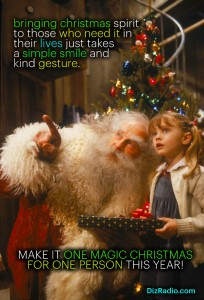 """""""Brining Christmas Spirit To Those Who Need It In Their Lives Just Takes A Smile and a Kind Gesture. Make it One Magic Christmas For Someone This Year"""""""