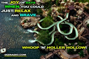 """""""The Joy of Days When You Could Relax, and Brave ... Whoop 'N' Holler Hollow!"""""""