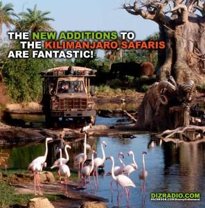"""The New Additions To The Kilimanjaro Safaris are Fantastic!"""