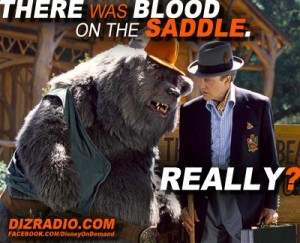 """The Country Bears: Big Al """"There Was Blood on the Saddle"""""""