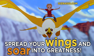 """""""Spread Your Wings And Soar Into Greatness!"""" Rescuers Down under"""