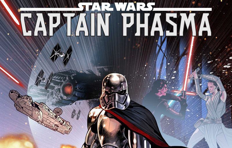 Captain Phasma Returns in an All-New Comic Book Mini Series Ready to Hit the Stands