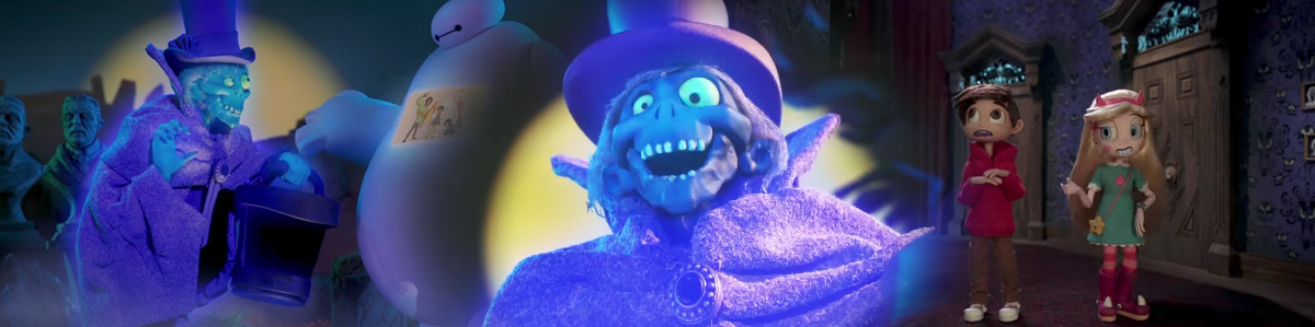 The Hatbox Ghost, Ezra the Hitchhiking Ghost, Marc Davis and More Appear in ALL-NEW Stop-Motion Haunted Mansion Disney XD Promos!