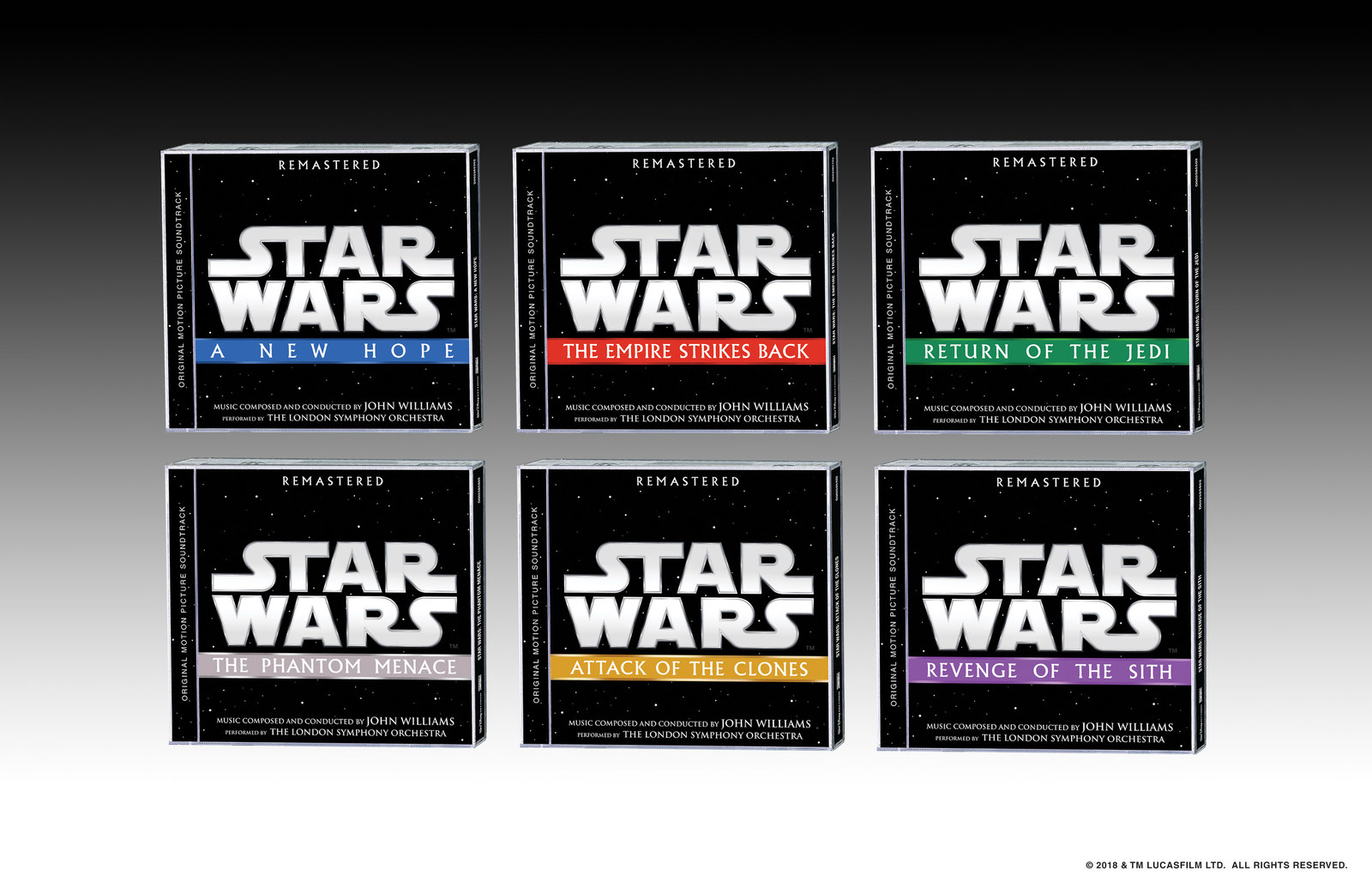 Disney Music Group Set To Release First 6 Remastered Star Wars Original Motion Picture Soundtracks On May 4