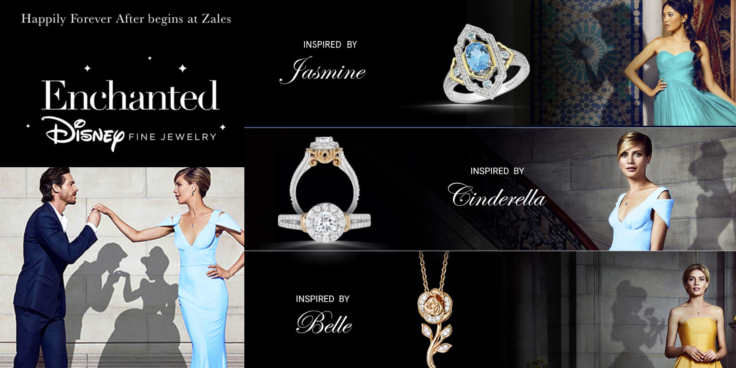 Peoples Unveils Exclusive Enchanted Disney Fine Jewelry Designs Inspired By Disney's Live-Action Aladdin