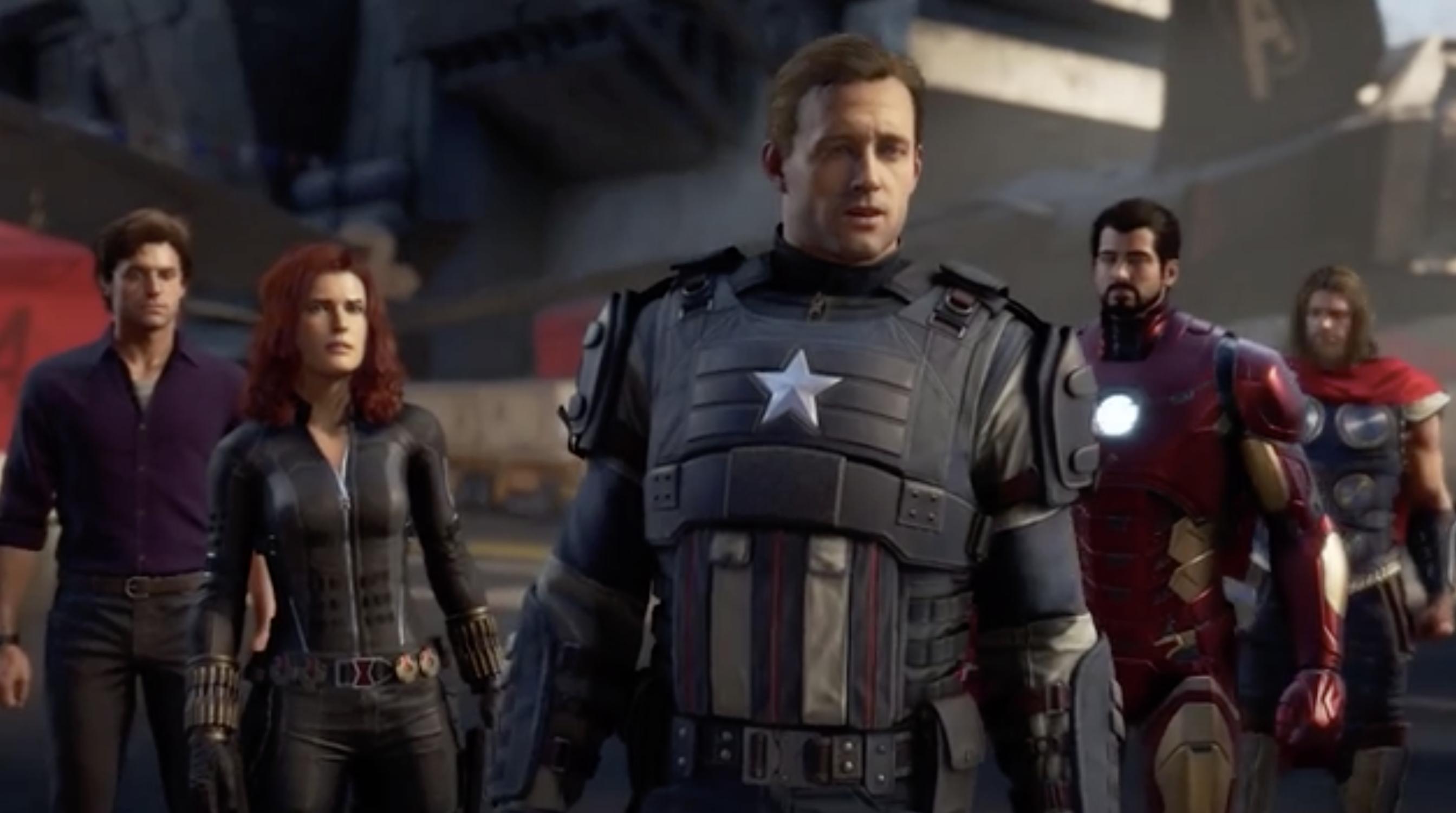 Embrace Your Powers As Square Enix And Marvel Entertainment Assemble Marvel's Avengers