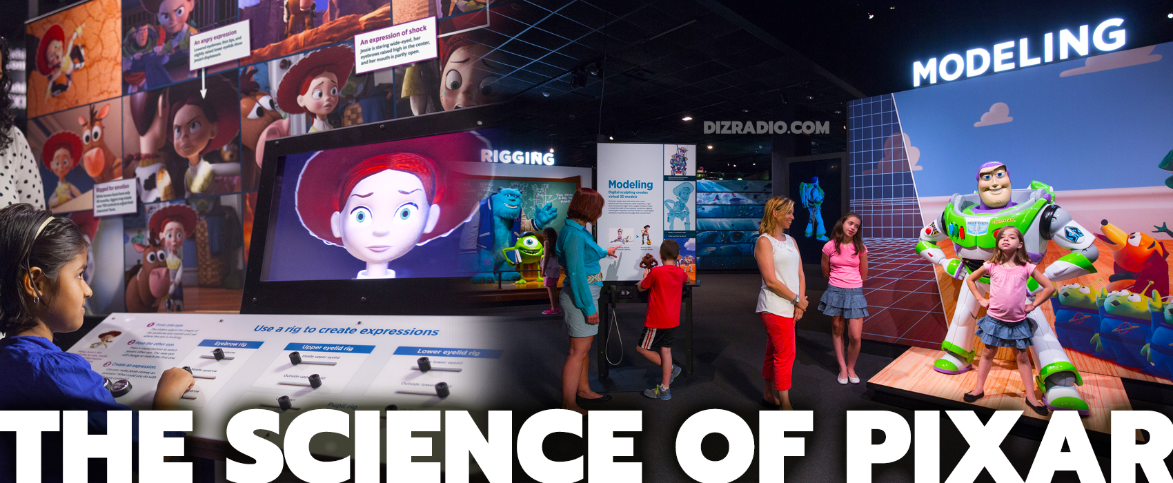 """""""The Science Behind Pixar"""" Opens at the Denver Museum of Nature & Science on Oct. 11"""