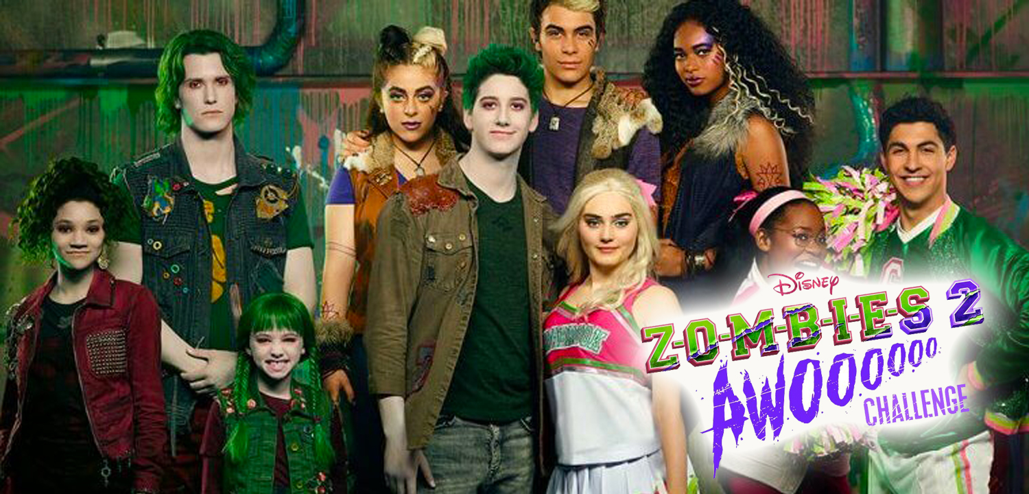 """Disney Channel's """"ZOMBIES 2"""" AWOO Challenge Invites Fans to Be Part of the Longest Howling Video Of All Time"""
